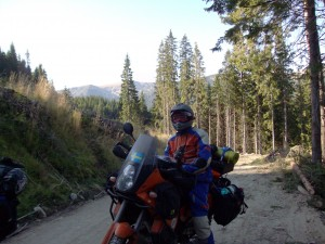 Ride a motorcycle, KTM 950 Adventurer