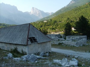 Theth National Park mountain valley Albania