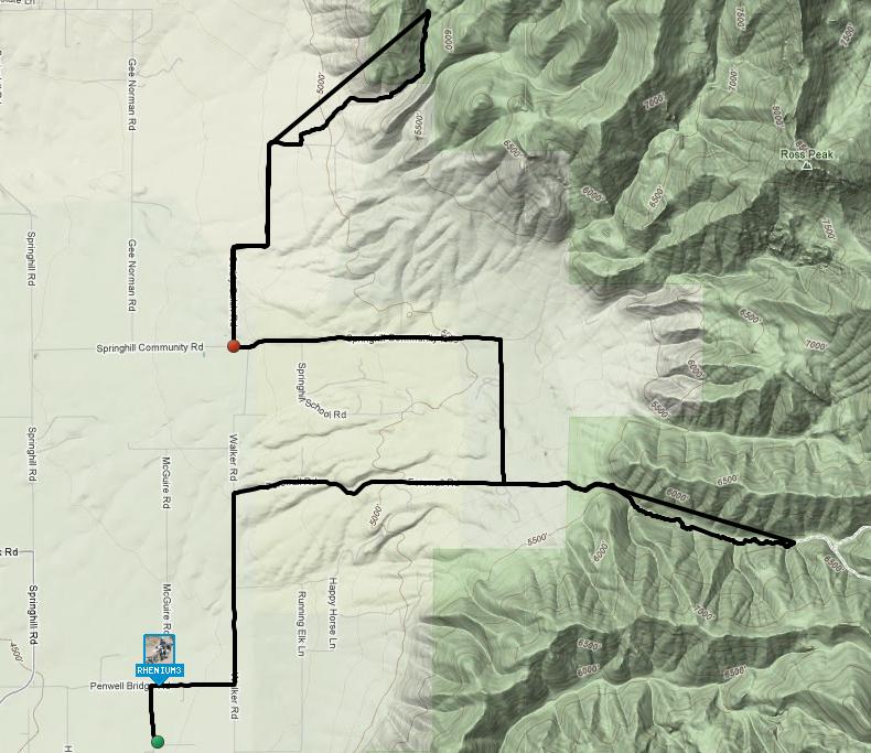 Bridgers Trails Part I