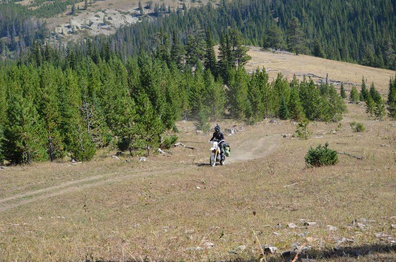 Montana motorcycle riding