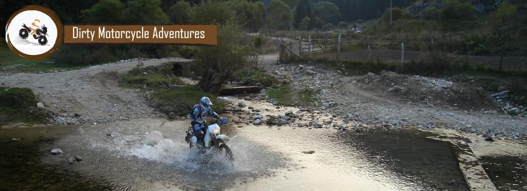 Dirty motorcycle Adventures
